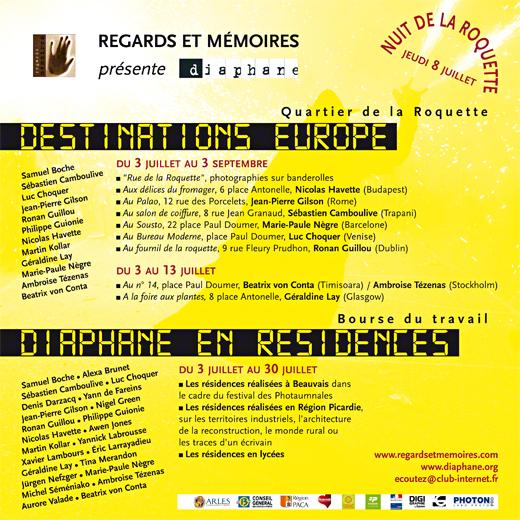 rencontres arles 2010 programme